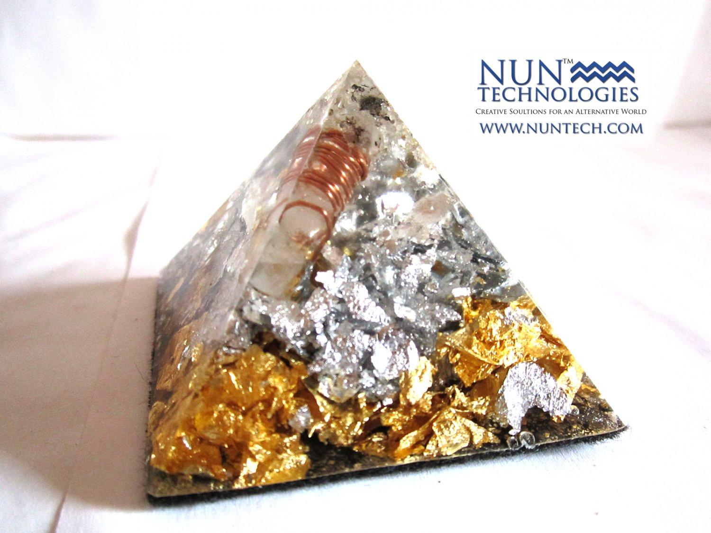 Rough Diamond Crystal Orgone Pyramid For Higher Consciousness By DR NEB HERU