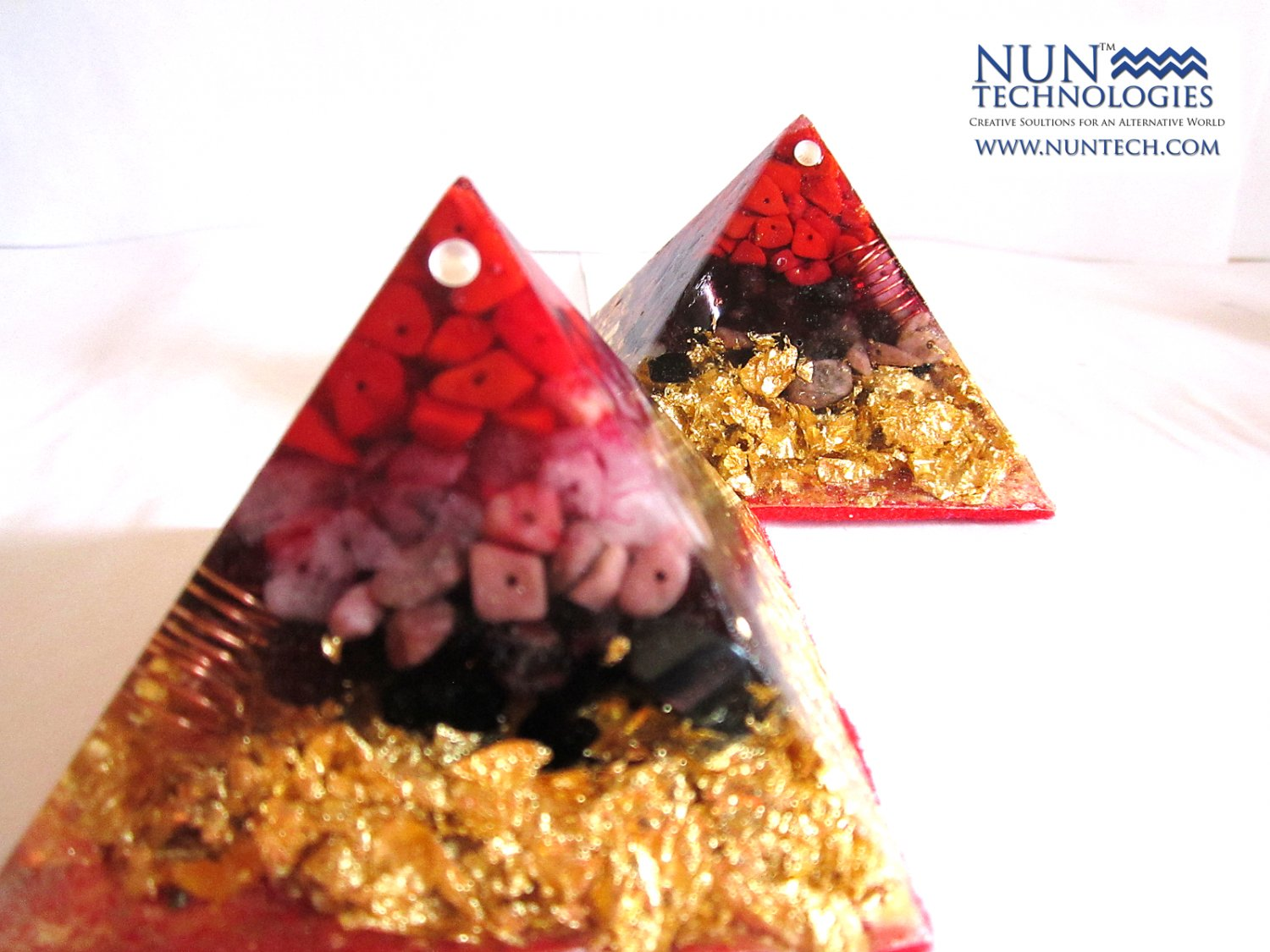 Crystal Orgone Pyramid For Attracting Love, Your Soul Mate and Twin Flame By DR NEB HERU