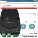 KODA 100 TCP/IP Web Relay Ethernet I/O Remote Monitoring Controller Real Time Clock Email Alerts POE
