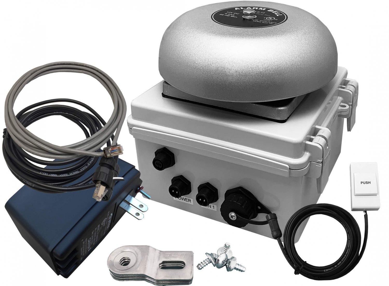 NETBELL-K, Web-based Loud Electric School Factory Break Alarm Bell System Automatic Bell Timer