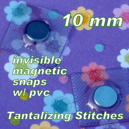 115 sets hidden sew in 10 mm Magnetic Snap Closures