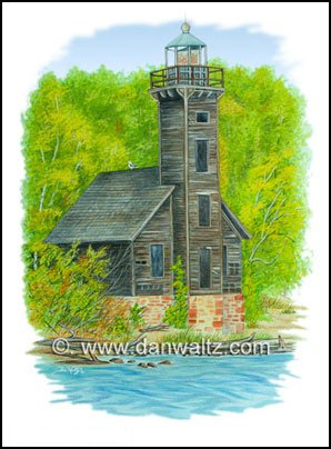 Grand Isle Lighthouse Print