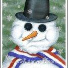 Snowman Original Painting