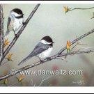 Spring Chickadees Original