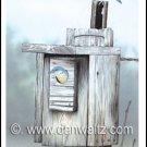 Bluebirds Print