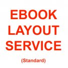 Standard Ebook Formatting Service