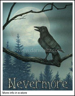 "The Raven ""Nevermore"" Print"