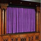 Vintage Style Pole Pocket Lavender 100% cotton Velvet curtain Theater/Stage Panel - 12Wx9H FT