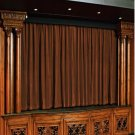 Vintage Style Pole Pocket Choco 100% cotton Velvet curtain Theater/Stage Panel - 20Wx10H FT