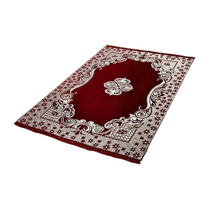 Burgundy Area Rugs Carpet Flooring Persian Area Oriental Floor Decor 5X7 Medallion