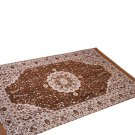 Traditional Medallion Persian/Oriental Area Chenille Carpet 5'X7' Rug Mat,Salmon