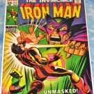 Iron Man #11 1969 The Manderin
