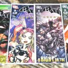 Batman: Arkham City Lot #'s 1, 2, 3, 4, 5 2011 LIMITED SERIES in NM/ NM+ Condition