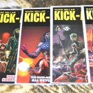 Kick-Ass 2 Lot #'s 1, 2, 3, 4, 5, 6, 7 2010 LIMITED EDITIONs all 1rst Printings