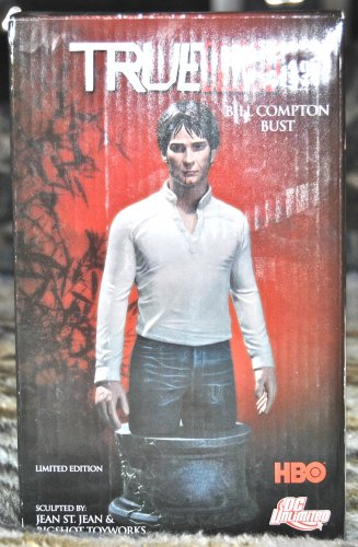 True Blood: Bill Compton Bust #0152 of 5000 WORLD-WIDE BNMIB
