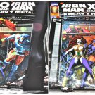 Iron Man / X-O Manowar AND X-O Manowar / Iron Man: In Heavy Metal #1 1996 Both in NM/NM+ conditions