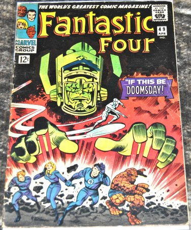 Fantastic Four #49 1966 (1961 Series) GD/VG Condition