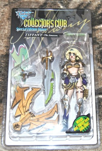McFarlane Collector's Club Special Edition Figure: Tiffany The Amazon