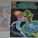 Silver Surfer #1 1/2B Holo Foil Variant 1987 Series VF/NM Condition with COA