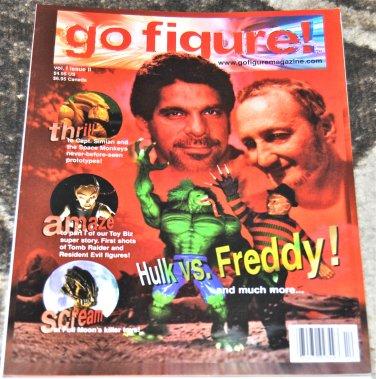 Go Figure! #2 1998 (Magazine/ Paperback) in Very Fine Condition