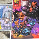 Blade #1/2 1999 in Near Mint/ NM+ Condition with COA