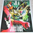 JLA: Liberty and Justice #[nn] 2003 One-Shot Tabloid Sized SC in NM Condition