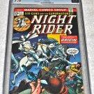 Night Rider #1 1974 Series CGC'd 7.0 Very Fine Condition