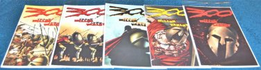 300 Dark Horse Comics Frank Miller Limited Series 1998 Lot #'s 1, 2, 3, 4, 5