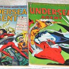 Undersea Agent 1966 Tower Comics T.H.U.N.D.E.R. Agents Lot #'s 1, 2, 3, 4