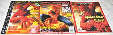 Lot of Three Spider-Man Collectible Magazines