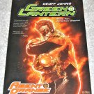Green Lantern: Agent Orange Collected Edition 2010 1rst Printing/ 1rst Edition GN/ TPB