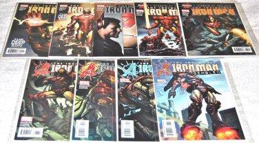 Iron Man 1998 Volume 3 Series Nine-Issue Lot