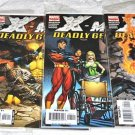X-Men: Deadly Genesis 2006 Series Six-Issue Lot