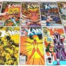 Uncanny X-Men 1981 Series Nine-Issue Lot