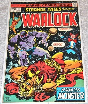 Strange Tales #181 1975 (1973 Series)