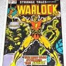 Strange Tales #178 1975 (1973 Series) Origin of Warlock