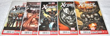 Cable and X-Force 2013 Series Five-Issue Lot