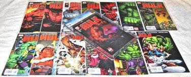 Hulk Volume 2 2008 Series Fourteen-Issue Lot