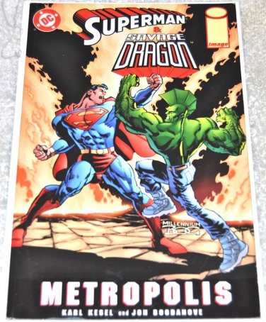 Superman & Savage Dragon: Metropolis #[nn] 1999 One-Shot