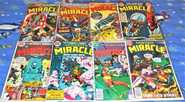 Mister Miracle 1971 Series Eight-Issue Lot