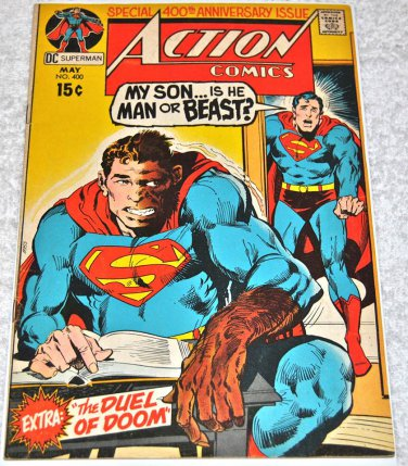 Action Comics #400 1971 (1938 Series)