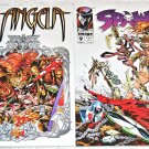 Image Comics Angela #1 1994 Limited Series and Spawn #9 1992 Series