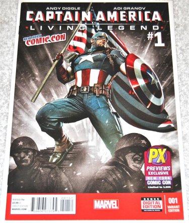 Captain America: Living Legend #1 2013 Limited Series