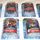"Jamn Products 4"" Marvel Figures/ Figurines Eight Piece Lot Mint on Cards"