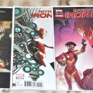 Invincible Iron Man #1, 1A, 1D, 1F, 1G 2017 Series Five-Issue Lot