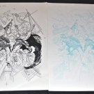 "Rock of Easy #1 Original Artwork by  Joe Kubert with ""proof page"""