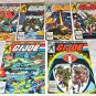G. I. Joe, A Real American Hero 1, 2, 3, 4, 5, 6 1982 Series