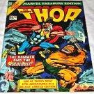 Marvel Treasury Edition #10 [Regular Edition] 1976 Jack Kirby Thor