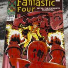 Fantastic Four #81 1968 Crystal joins FF