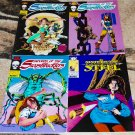 Swords of the Swashbucklers ##'s 1, 2, 3 1985 Epic Comics Four-Issue Lot